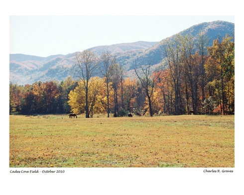 Cades Cove - Great Smoky Mountains, TN
